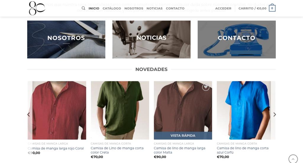 tienda online de productos a medida